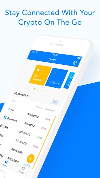 Blox Crypto Portfolio Tracker screenshot three
