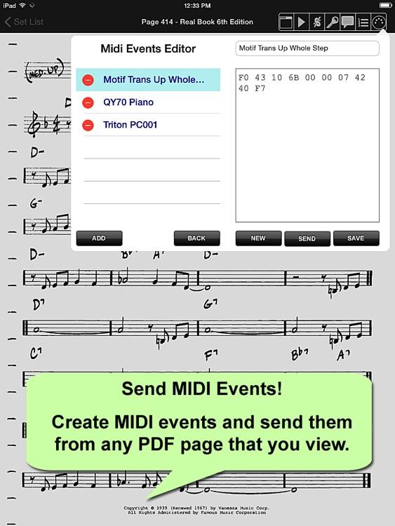 iGigBook Sheet Music Manager 7 screenshot-4
