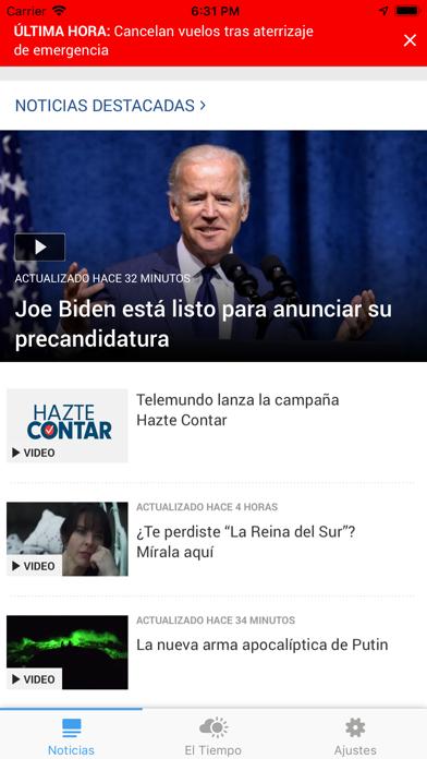 Telemundo Utah screenshot 1