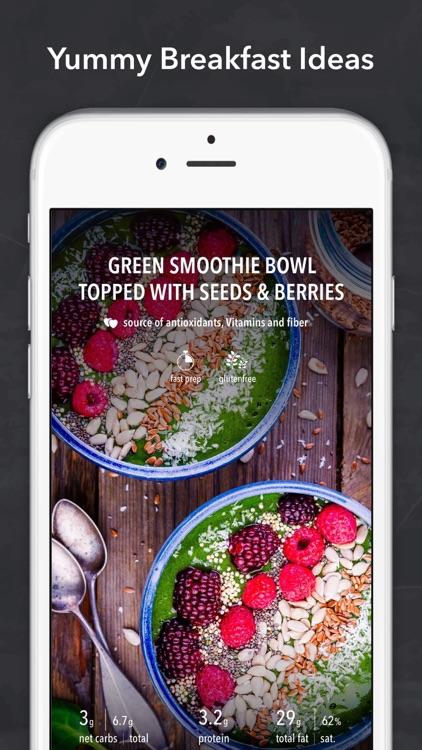 Keto Diet Recipes + Carb App screenshot-3