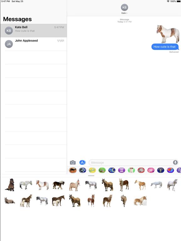 Pony-Horse Emojis Stickers screenshot #3