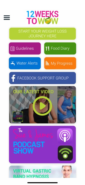 12 Weeks to Wow Weight Loss on the App Store