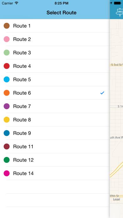Mountain Line Transit screenshot three