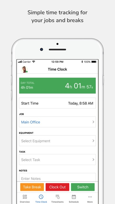 Tsheets Time Tracker App Reviews - User Reviews of Tsheets