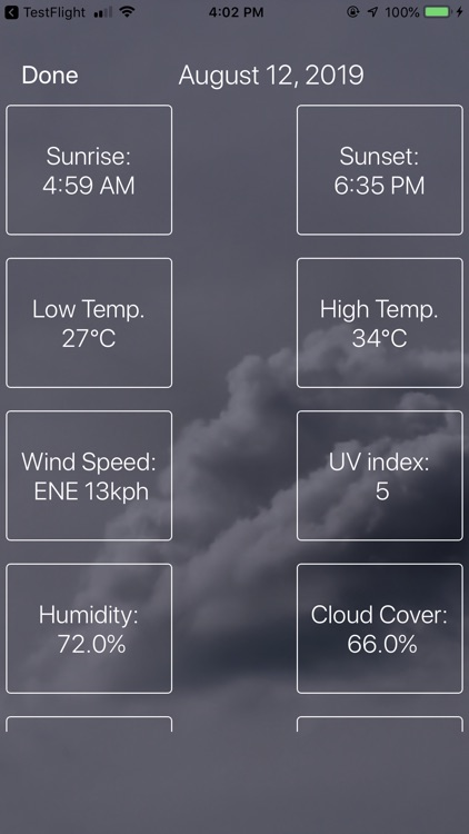Weather : Clouds are White. screenshot-9