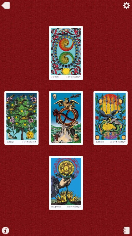 Holy Light Tarot screenshot-4