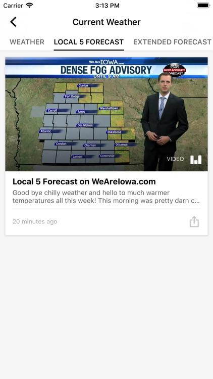 We Are Iowa Weather Local 5 screenshot-3