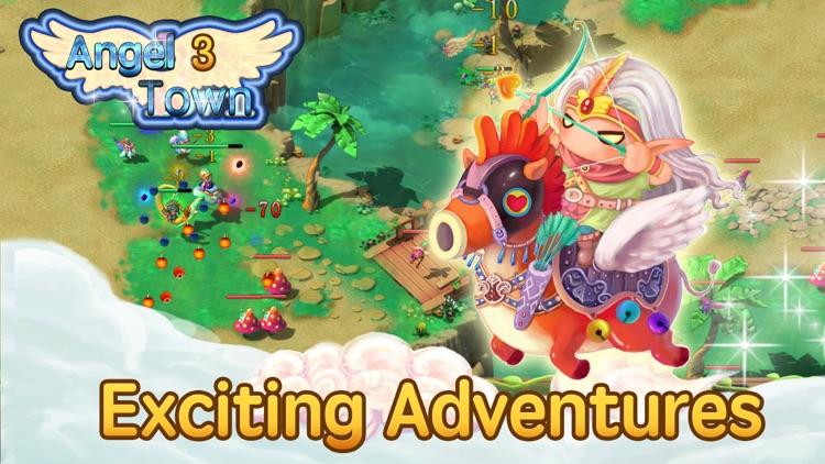 Angel Town 3- new idle games screenshot-3