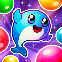 Space Whale! Bubble Pop Game on the App Store