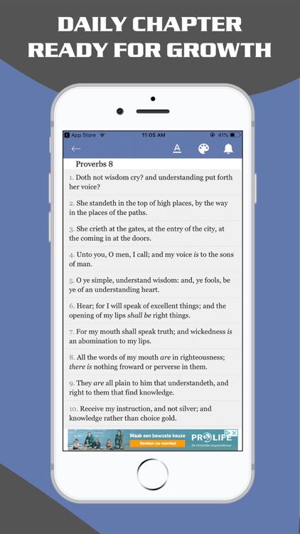 Proverbs & Psalms - King James screenshot-4