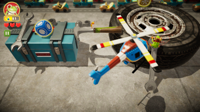 Frogger in Toy Town Screenshot