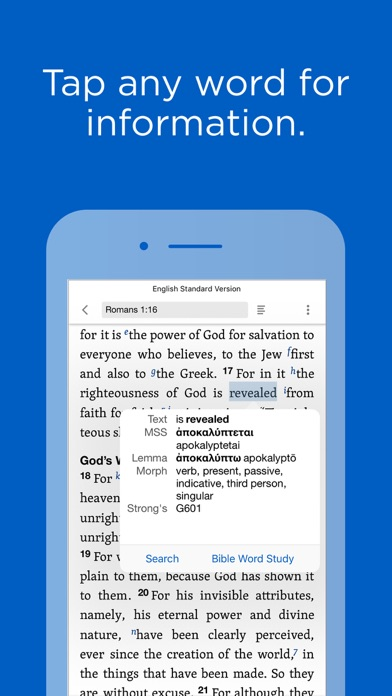 Screenshot for Logos Bible Study Tools in United States App Store
