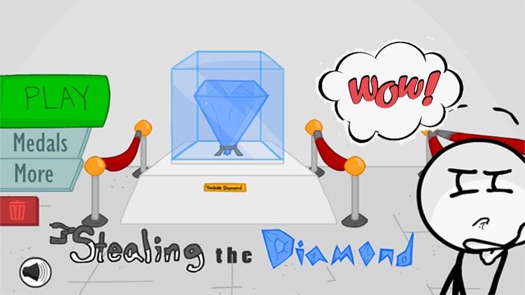 Stealing The Diamond -Stickman