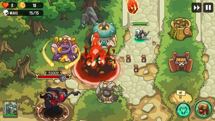 Empire Warriors: Tower Defense screenshot-3