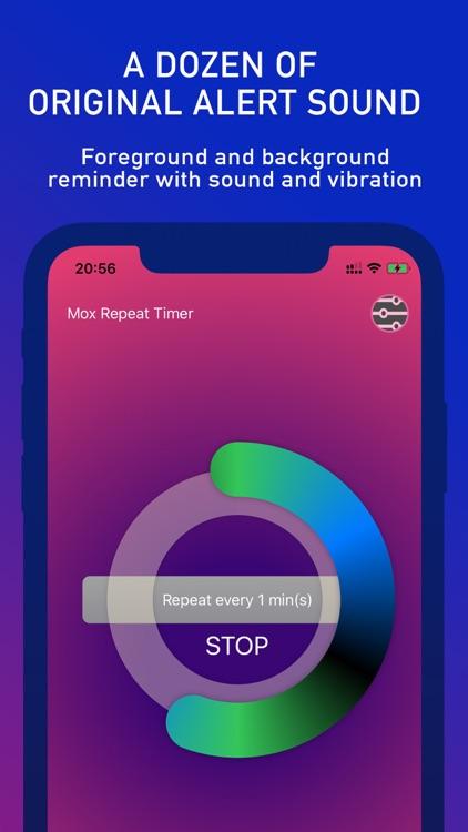 Mox Repeat Timer screenshot-4