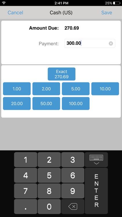 Teamwork Mobile POS 4.92 screenshot-3