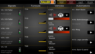 Screenshot for Faller System Digital Mobile in Kazakhstan App Store
