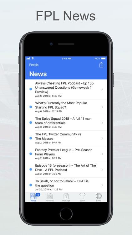 Fantasy Football Manager, Lite screenshot-4