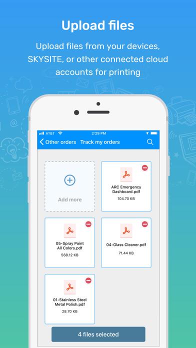 Screenshot for ARC Print in Japan App Store