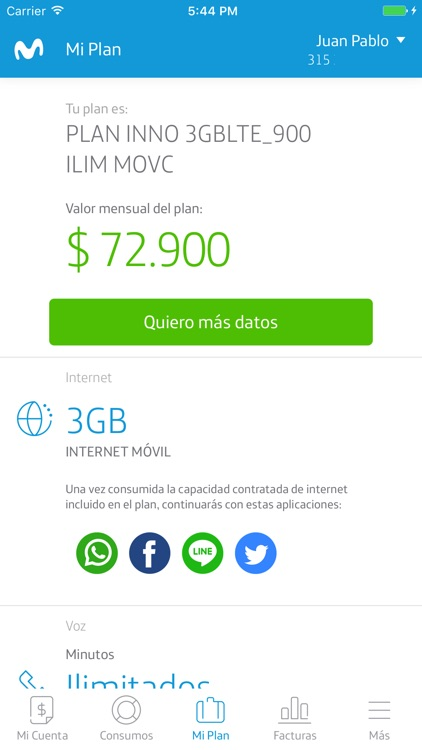 Mi Movistar Colombia screenshot-3