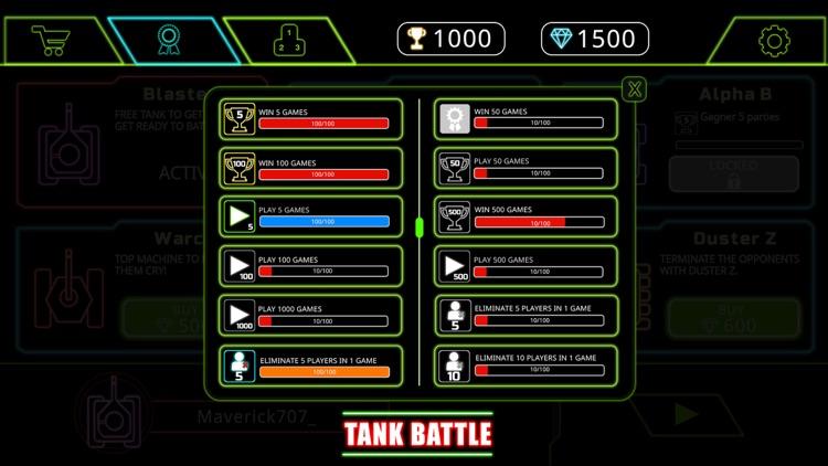Tank battle io multiplayer screenshot-5