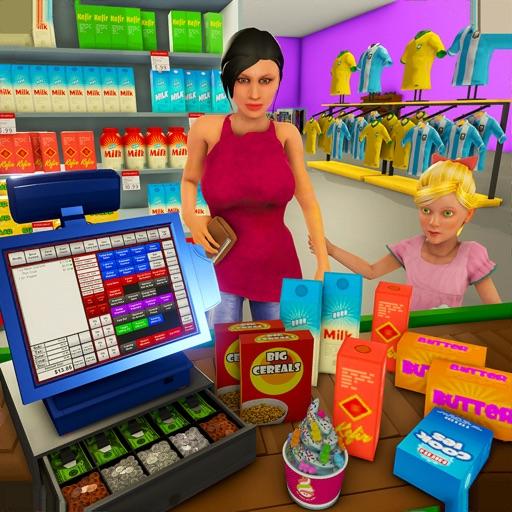 Supermarket Shopping Games 3D iOS App