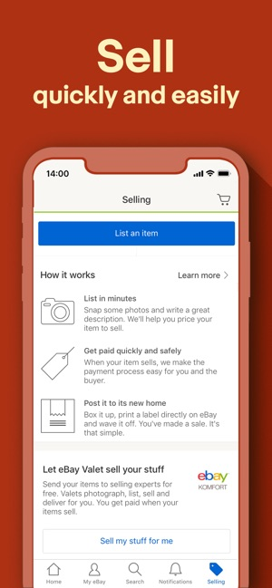 Buy, sell, and save with eBay on the App Store