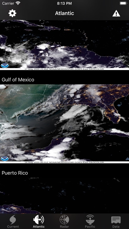 NOAA Hurricane Center screenshot-9