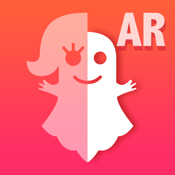 Ghost Lens+Selfie Photo Video Editor,Awesome Collage Maker Plus Filter Blender icon