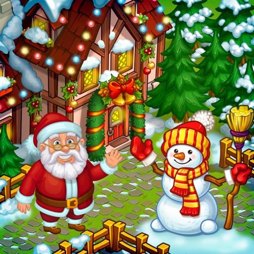 New Year Farm of Santa Claus iOS App