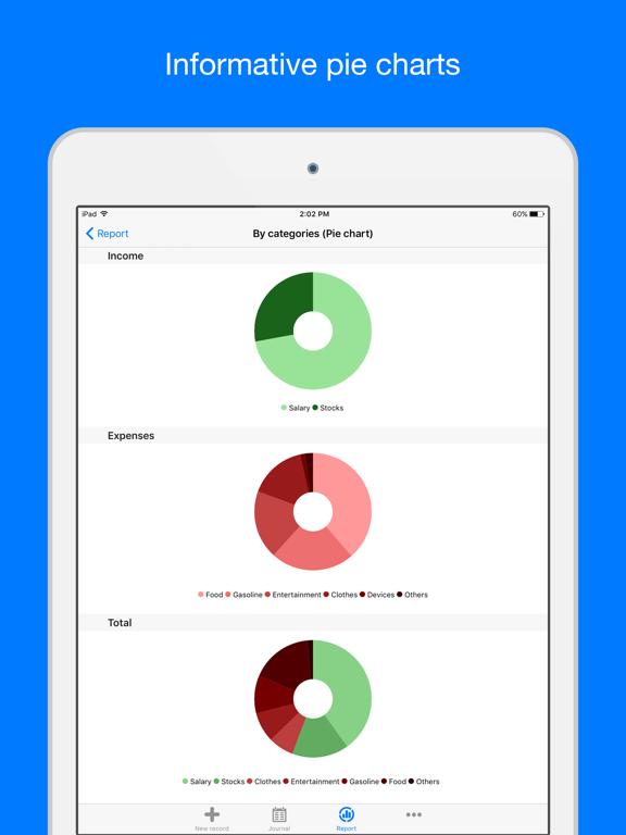 Filki - Expenses and Income Screenshots
