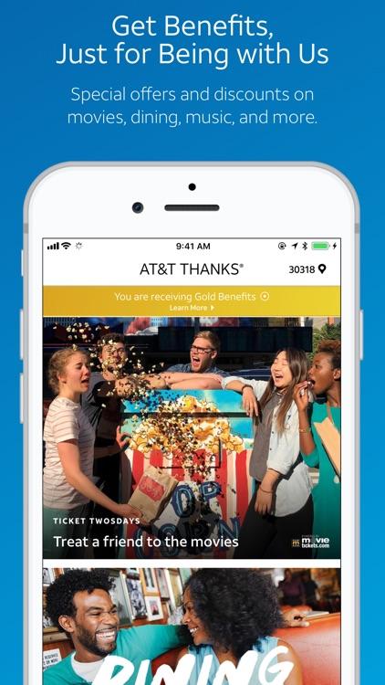 AT&T THANKS® screenshot-0