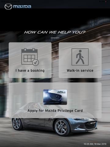 Mazda Connect App - náhled