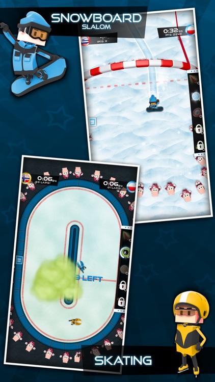 Flick Champions Winter Sports screenshot-3
