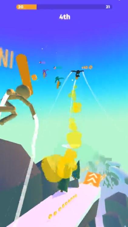 Stickman Snow Ride screenshot-3