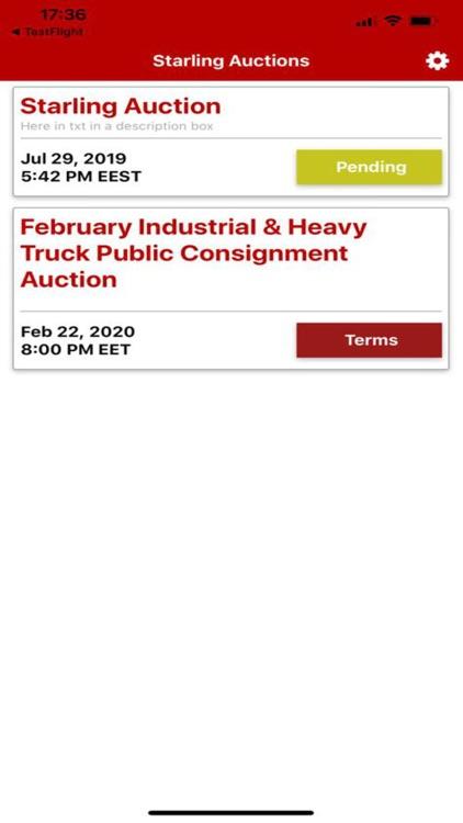 Starling Auctions screenshot-4