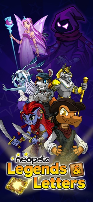 Neopets: Legends & Letters on the App Store