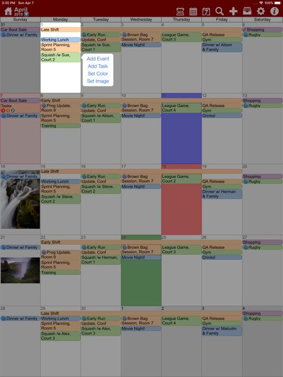 Screenshot #6 pour myCal PRO: Calendar & Events