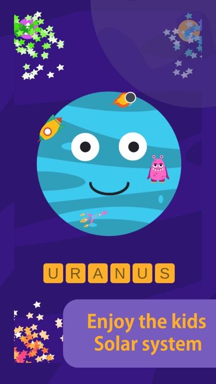 Kids Solar System - planets screenshot-7