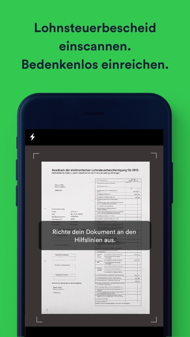 Screenshot for Taxfix - Die Steuer-App in France App Store