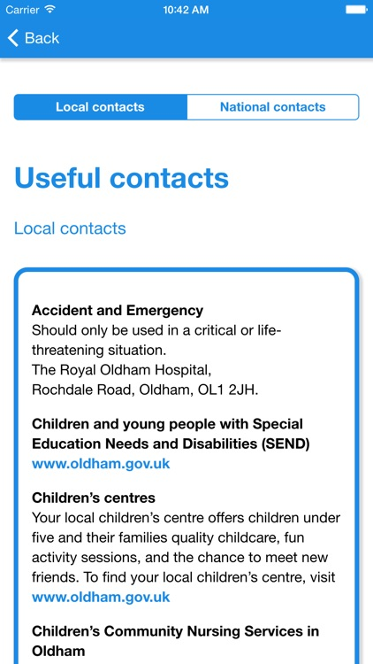 Oldham Child Illness screenshot-4