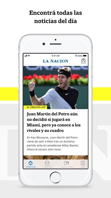 LA NACION y Club LA NACION screenshot one