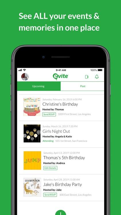 Evite: Online & Text Invites screenshot-5