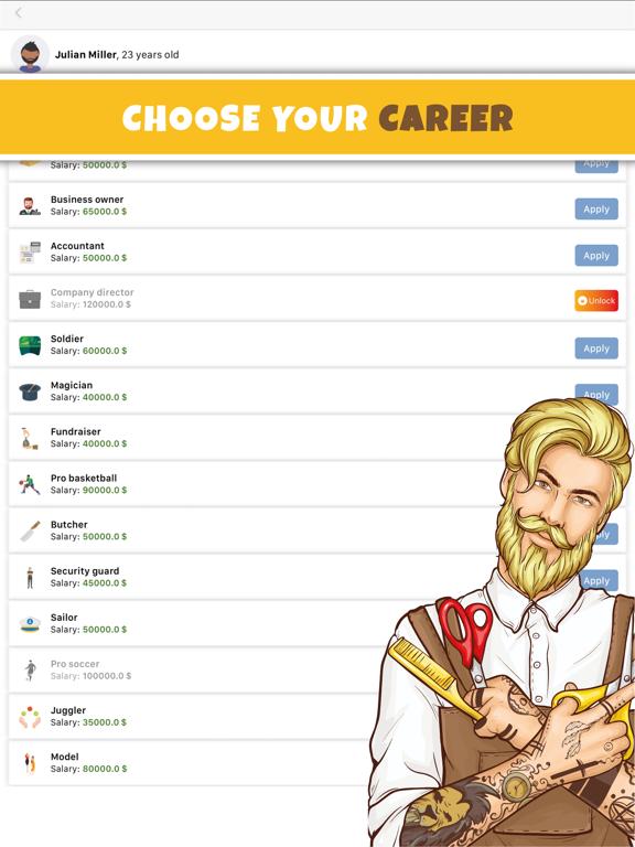 Simulife - Life Simulator Game screenshot