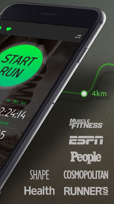 Running Distance Tracker Pro Screenshot