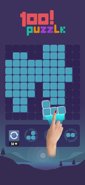 100! Block Puzzle Color on the App Store