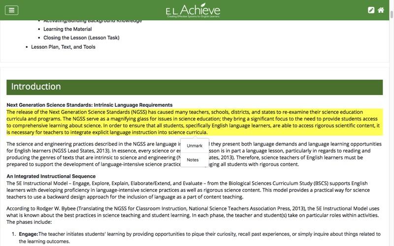 ELAchieve for Mac