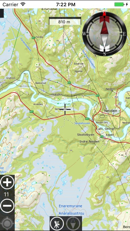 Outdoor GPS map screenshot-4