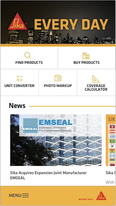 Sika Every Day by Sika Corporation (iOS, United States