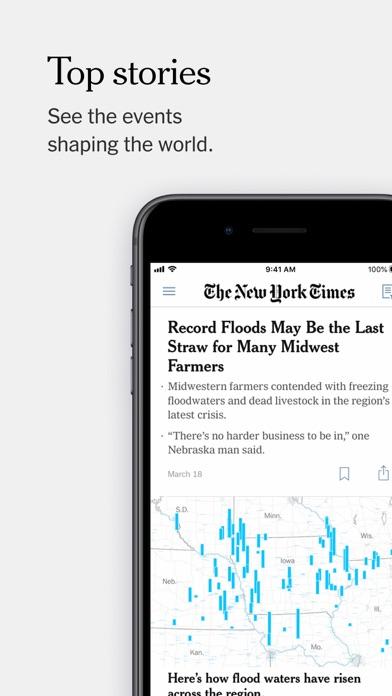 The New York Times screenshot one